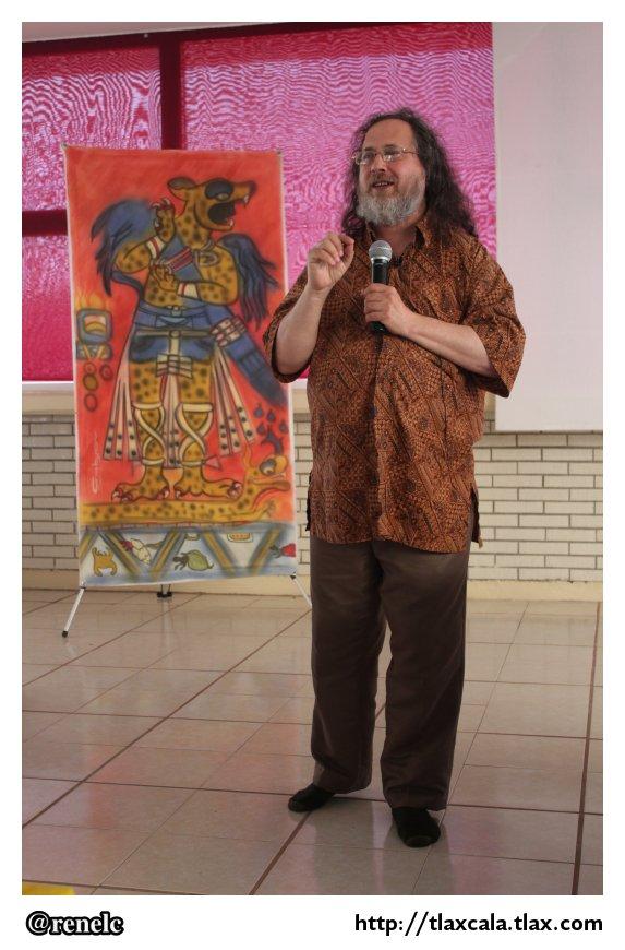 Richard Stallman en la Universidad Politecnica de Tlaxcala (UPT ...